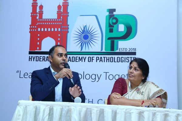 First Annual Conference of Hyderabad Academy of Pathologists. Basavatarakam Indo Amercian Cancer Hospital