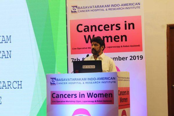 Basavatarakam Cancer Hospital Live Operative Workshop on Cancers in Women 2019