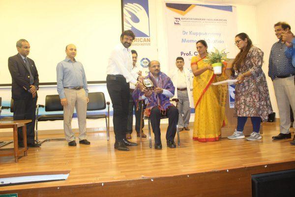 Basavatarakam Cancer Hospital Dr.Kuppuswamy memorial oration on 16th Dec 2019