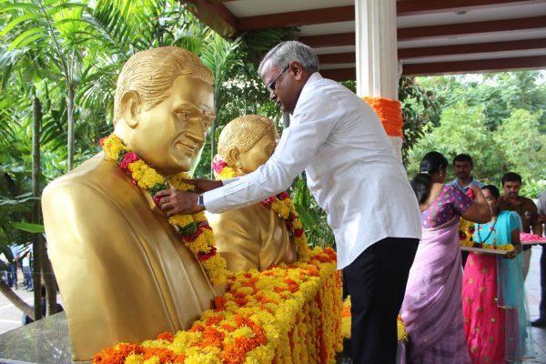 Basavatarakam Cancer Hospital India Hyderabad Independence Day Celebrations