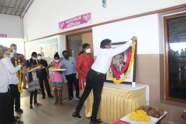 Basavatarakam Hospital 73rd birth anniversary of our Honourable Founder Chairman Sri Kodela Siva Prasada Rao