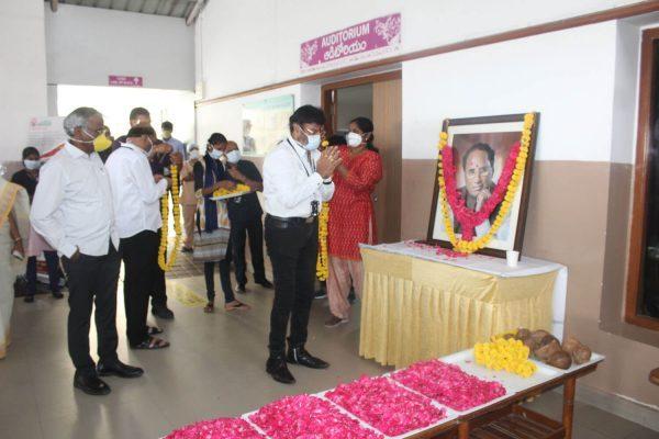 Basavatarakam Hospital Hyderabad 73rd birth anniversary of our Honourable Founder Chairman Sri Kodela Siva Prasada Rao