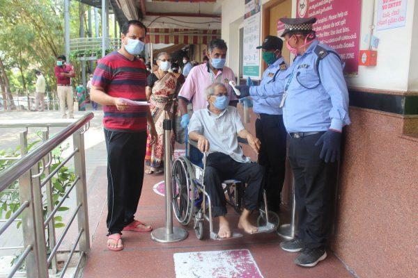 Basavatarakam Hospital Hyderabad precautions against COVID-19 Indo American Hospital Hyderabad