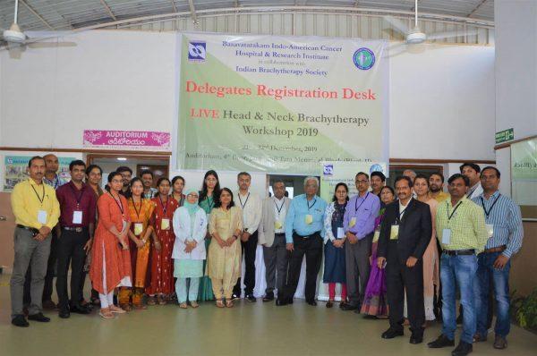 Basavatarakam Indo American Cancer Hospital 2019 Live Head & Neck Brachytherapy Workshop