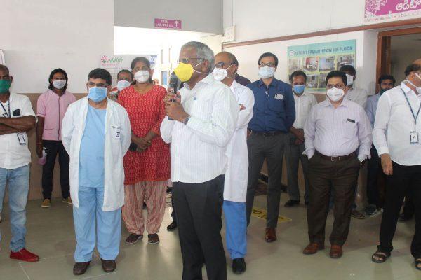 Cancer Hospitals Hyderabad Basavatarakam Indo American Hospital 73rd birth anniversary of Late Sri Kodela Siva Prasada Rao