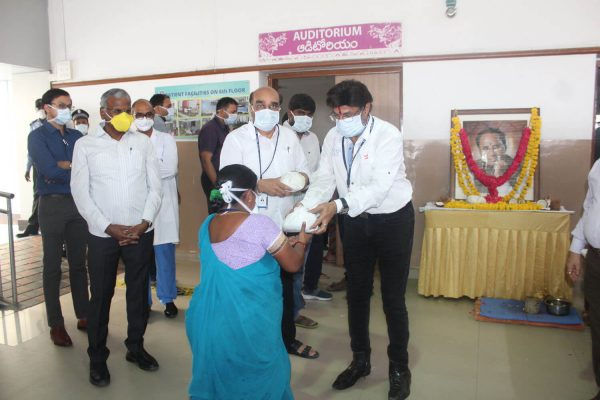 Cancer Hospitals Hyderabad Indo American Hospital 73rd birth anniversary of Late Sri Kodela Siva Prasada Rao