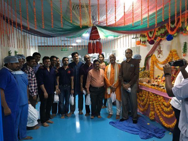 Basavatrakam Indo-American Cancer Hospital Dussehra Ayudha Puja Celebrations