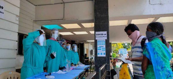 Indo American Cancer Hospital Hyderabad precautions against COVID-19 Basavatarakam Hospital Hyderabad