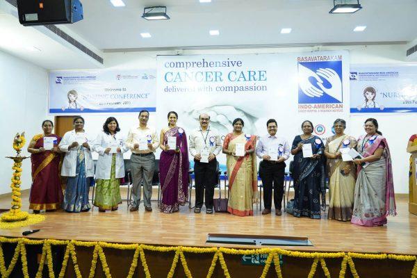 Indo American Cancer Hospital Nursing Excellence conference 2020 Basavatarakam Hospital Hyderabad