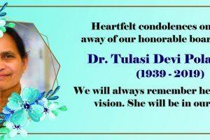 basavatarakam indo-american cancer hospital and research institute board member tulasidevi polavarapu passed away