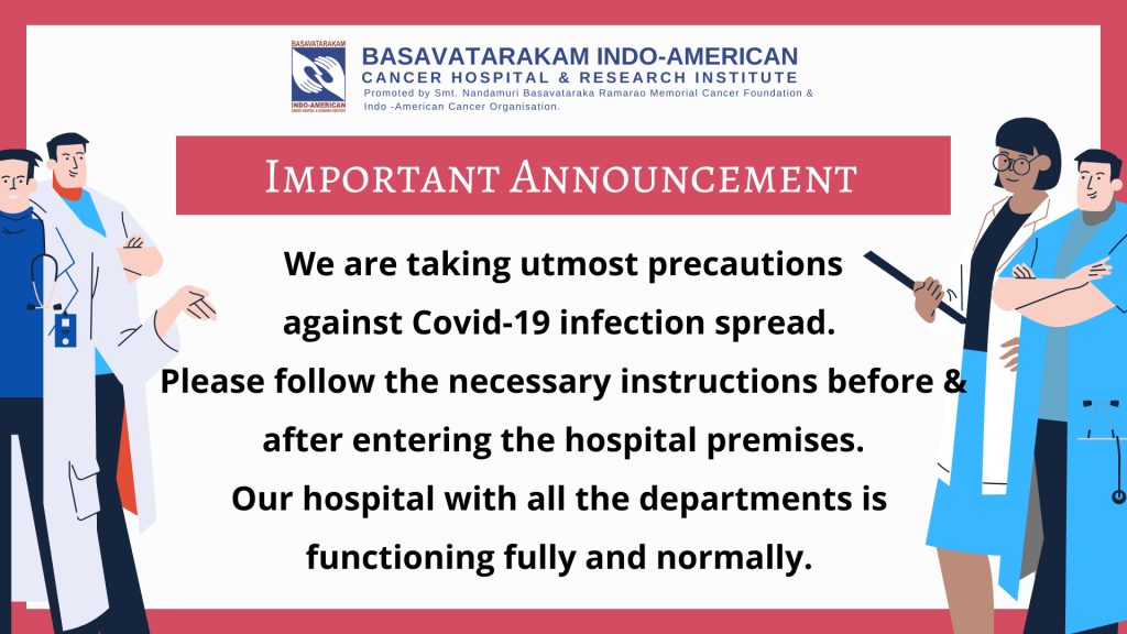 Basavatarakam Hospital Book online appointment the best cancer hospital in Hyderabad