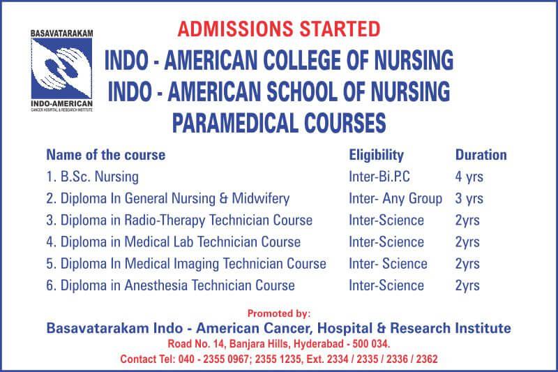 best cancer hospitals in hyderabad basavatarakam Indo-American cancer hospital