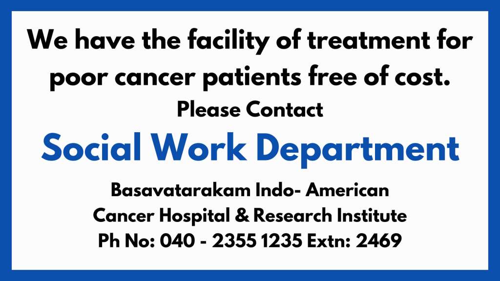 best cancer hospital in Hyderabad Basavatarakam Indo American Cancer Hospital
