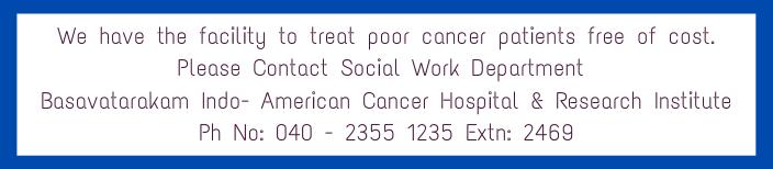 Best cancer hospital in hyderabad - basavatarakam indo american cancer hospital