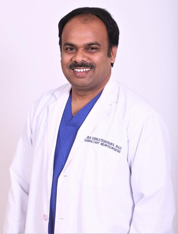 Best Neuro Oncology doctor in hyderabad Dr K Venkateswara Rao Basavatarakam Indo AMerican Cancer Hospital